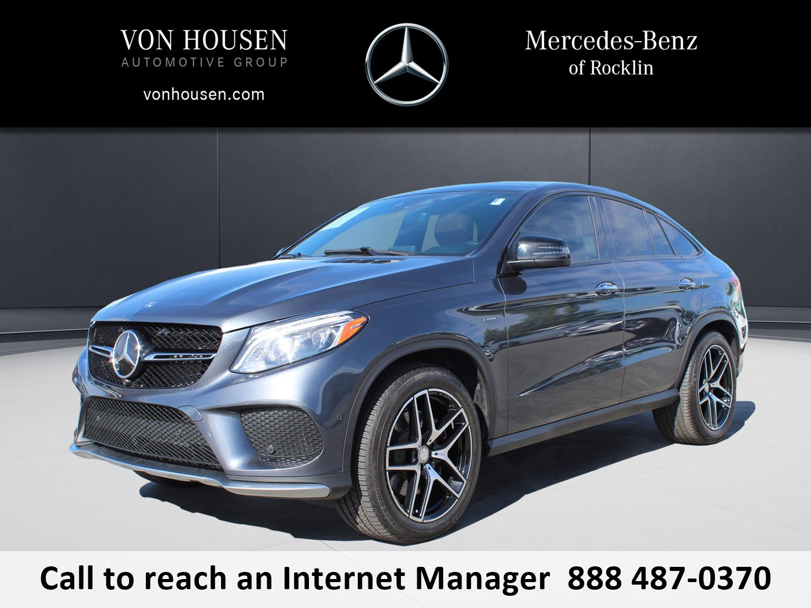 Certified Pre Owned 2016 Mercedes Benz GLE GLE 450 AMG®