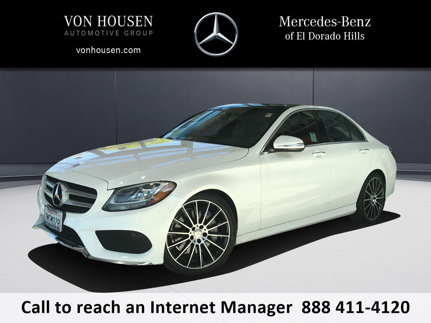 Certified Pre Owned 2015 Mercedes Benz C Class C300W