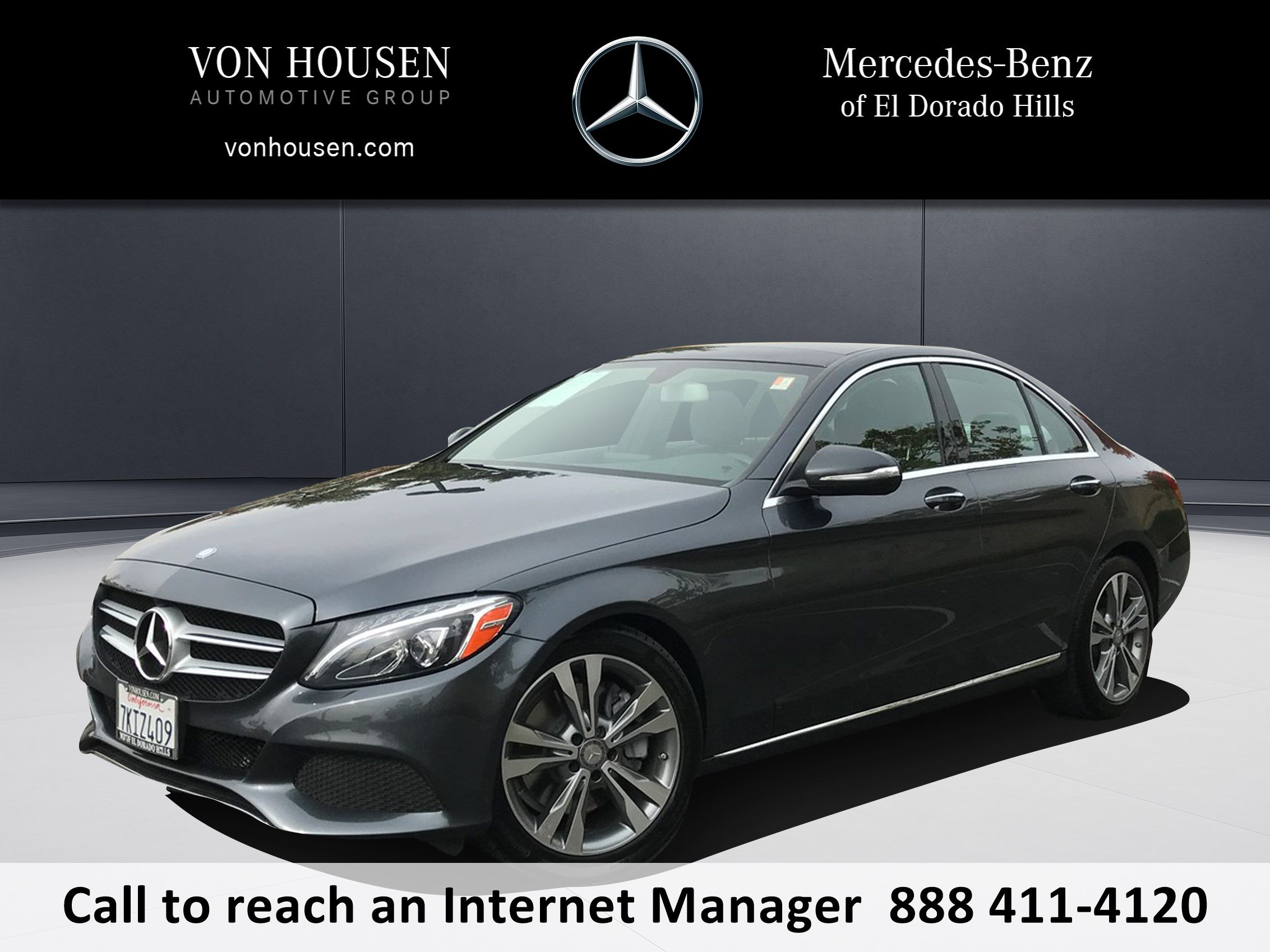 Certified Pre Owned 2015 Mercedes Benz C Class C 300 4dr Car in