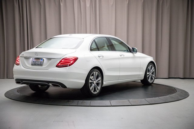 Certified Pre-Owned 2016 Mercedes-Benz C-Class C300W