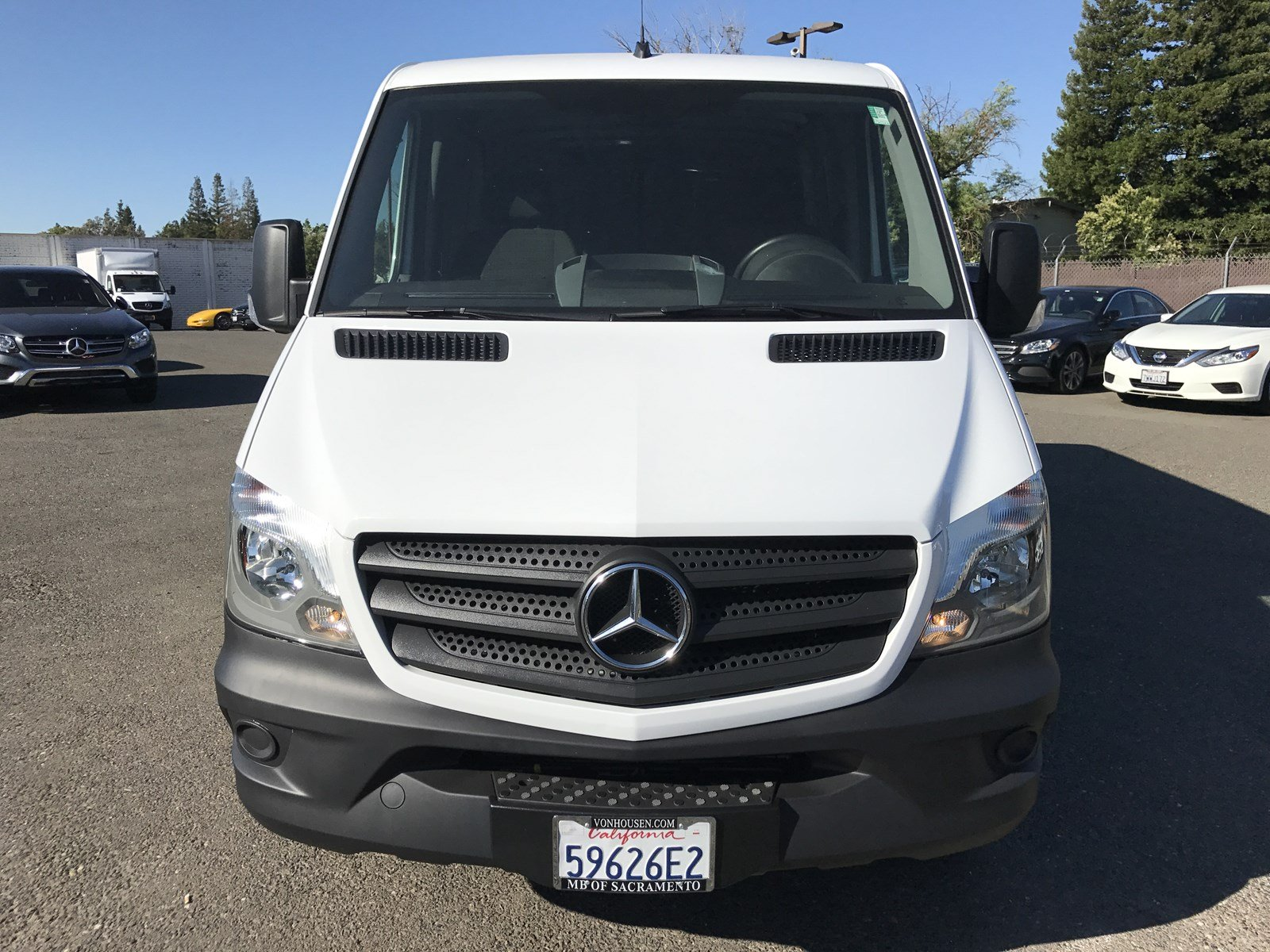 Certified Pre Owned 2016 Mercedes Benz Sprinter Cargo Vans Full size