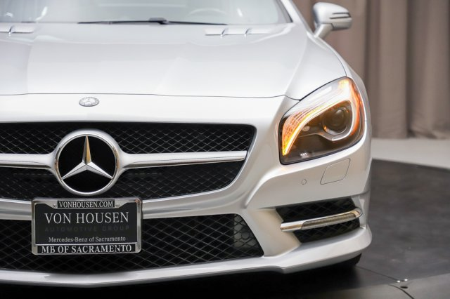 Certified Pre-Owned 2015 Mercedes-Benz SL-Class SL 400