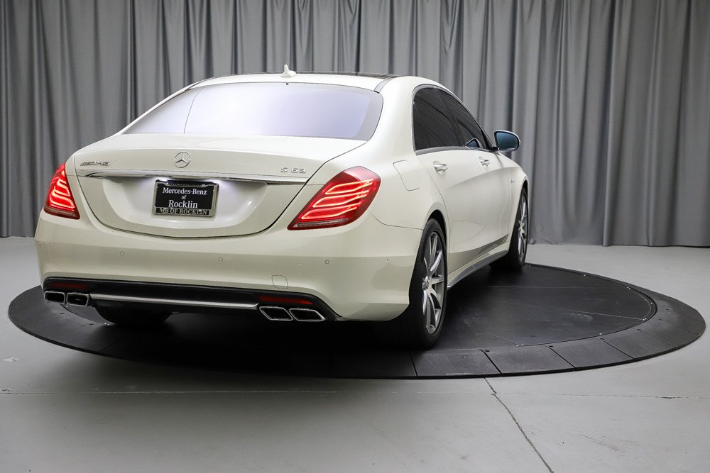 Certified Pre-Owned 2017 Mercedes-Benz S-Class AMG® S 63