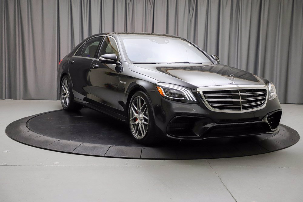 New 2020 Mercedes-Benz S-Class AMG® S 63