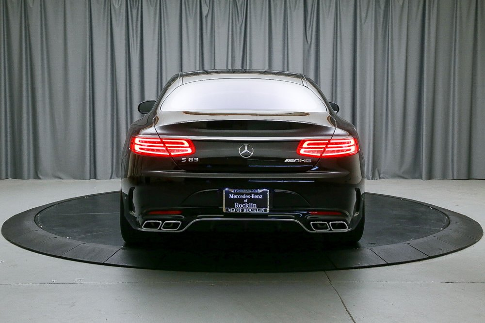 Certified Pre-Owned 2016 Mercedes-Benz S-Class AMG® S 63