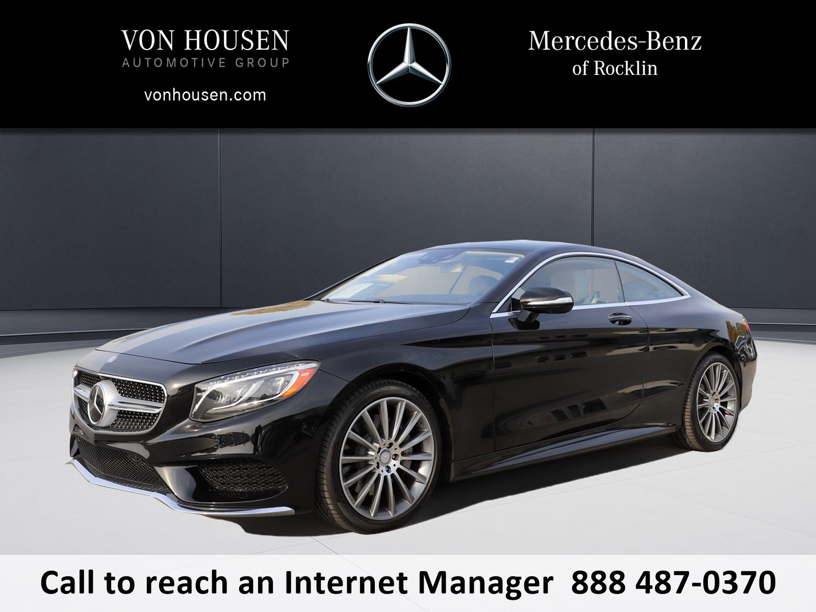 Certified Pre Owned 2015 Mercedes Benz S Class S 550 2dr Car in