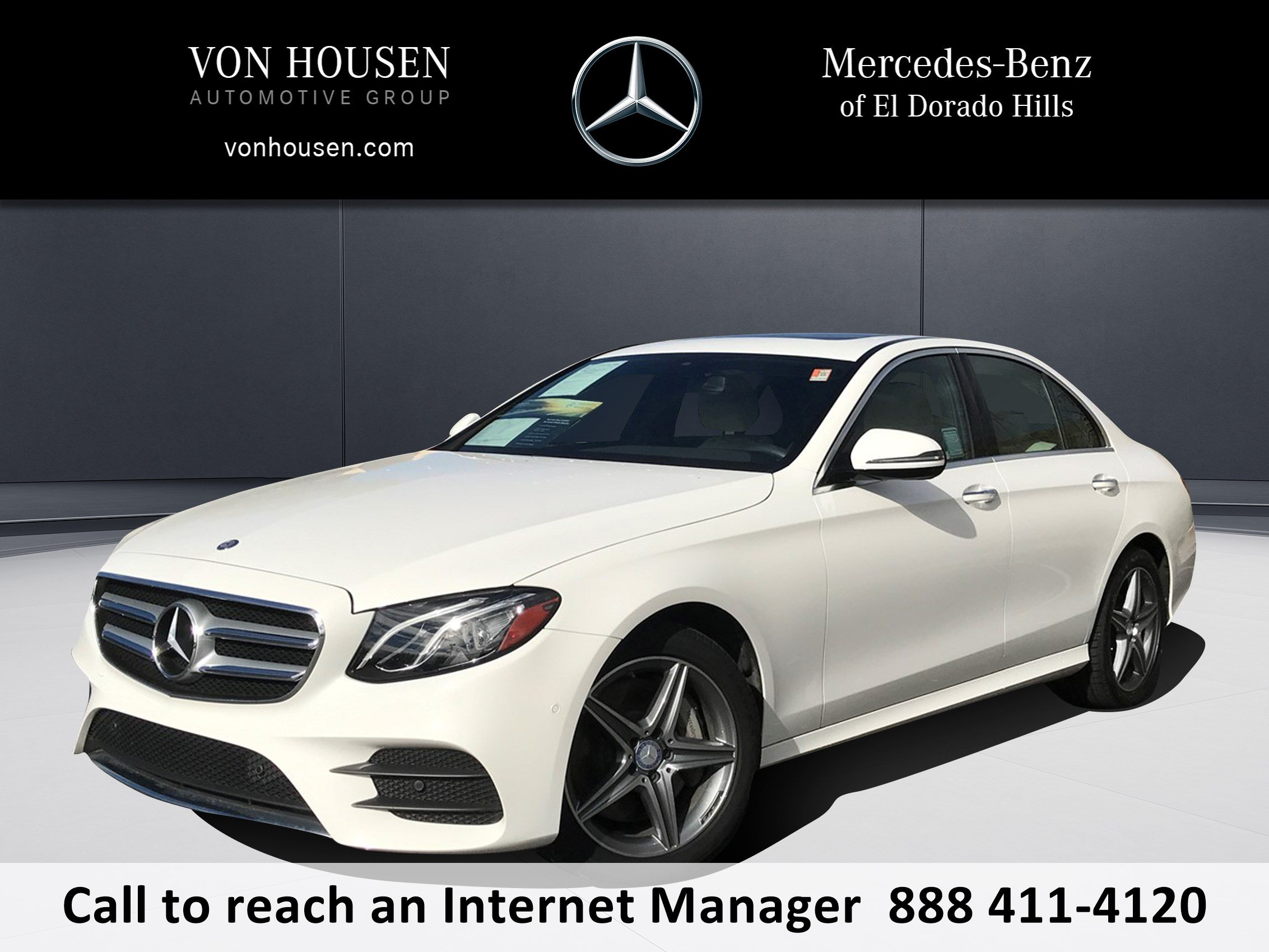Certified Pre Owned 2017 Mercedes Benz E Class E 300 Sport 4dr Car