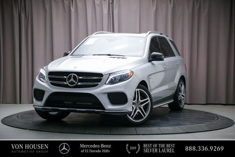 Certified Pre-Owned 2017 Mercedes-Benz GLE AMG® GLE 43