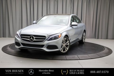 Certified Pre-Owned 2015 Mercedes-Benz C-Class C300W