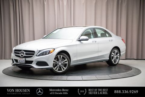 Certified Pre-Owned 2016 Mercedes-Benz C-Class C300W4
