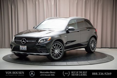 Certified Pre-Owned 2018 Mercedes-Benz GLC AMG® GLC 43