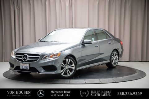 Certified Pre-Owned 2016 Mercedes-Benz E-Class E350W