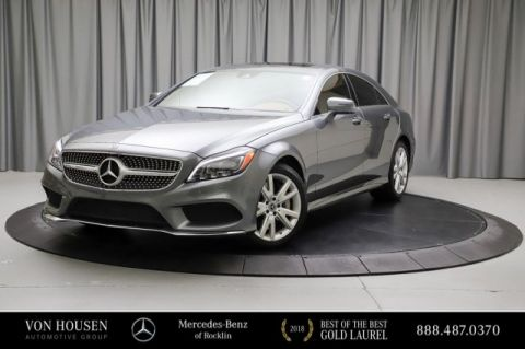 Certified Pre-Owned 2018 Mercedes-Benz CLS CLS 550