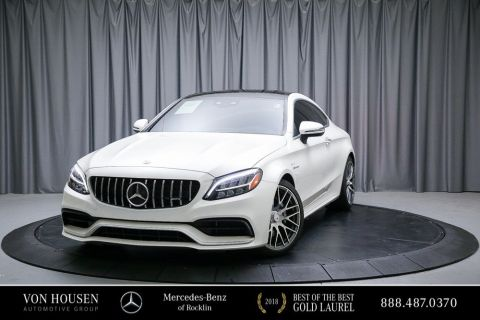 Certified Pre-Owned 2019 Mercedes-Benz C-Class AMG® C 63