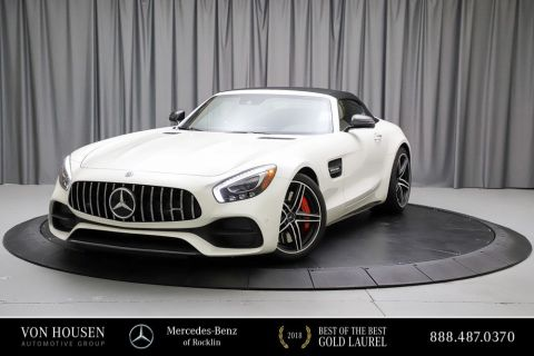 Certified Pre-Owned 2018 Mercedes-Benz AMG® GT AMG® GT C